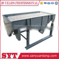 SYZ linear sieving machine / chemical powder linear vibration screen price