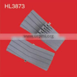conveyor plastic chain HL3873 with rubber top for sprial conveyor