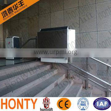 outdoor CE inclined chairlift for elderly people