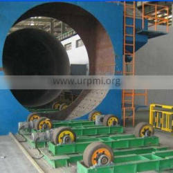 Energy Saving Recycled Grits Shot Blasting Machine for Steel Pipes