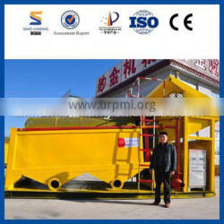 SINOLINKING professional small washing and selecting alluvial gold equipment for sale