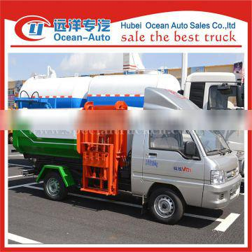 2015 new condition foton small garbage truck