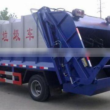 China Famous Brand Dongfeng 4x2 120hp waste collection truck