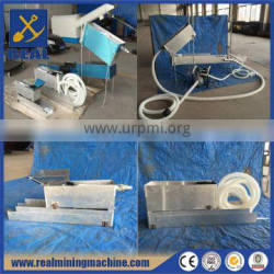 Portable gold panning equipment gold mining sluice box for sale
