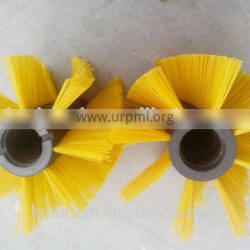 Electric sweeper roller brush with high effiency