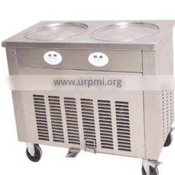 Big Capacity Thailand Fried Ice Cream Roll Machine For Cheap Prices