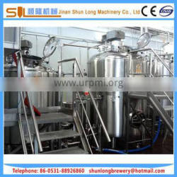 hot sale factory equipment 10bbl investment project beer factory equipment