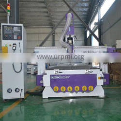 LT-1325 CNC Router Carousel tool changer machine with Vacuum table vacuum pump