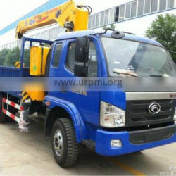 4*2 FOTON forland NEW truck crane with 4ton for sale