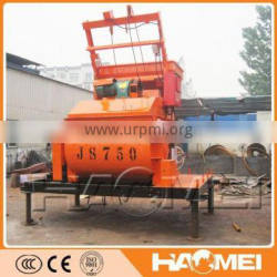 Factory Supply JS750 Concrete Mixers with Low Cost and Good Quality