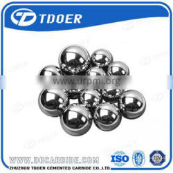 Finished tungsten carbide ball