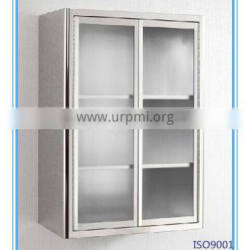 SUS304 stainless steel bathroom wall mount cabinet