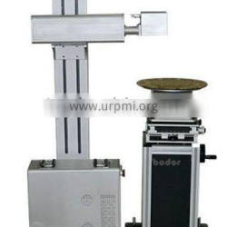 fiber laser marking machine with Automatic turntable