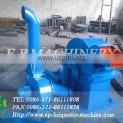 wood crusher with cyclone