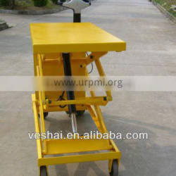 easy operation hydraulic mobile electric lift table CE 500KG VT-50-DC