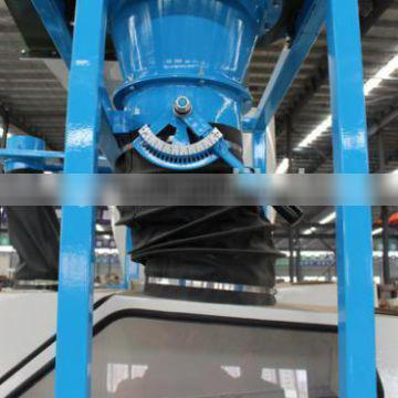 Small ocupied cereal cleaning machine