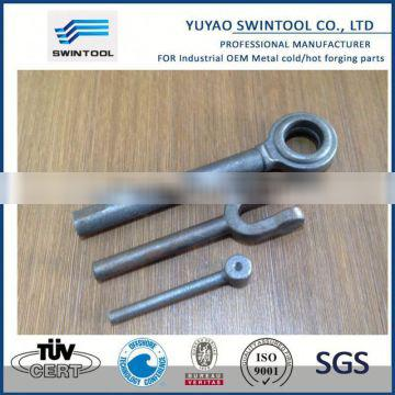 Metal droped forging part-clevis EYE for turnbuckle DIN 1478 and 1480 M42