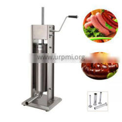 7L Stainless steel Vertical Heavy Duty manual sausage stuffer filler machine