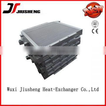 Custom made aluminum air cooled hydraulic oil cooler with gear box china manufacture good quality