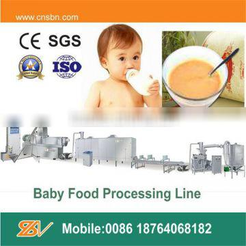 Stainless steel automatic baby food process line