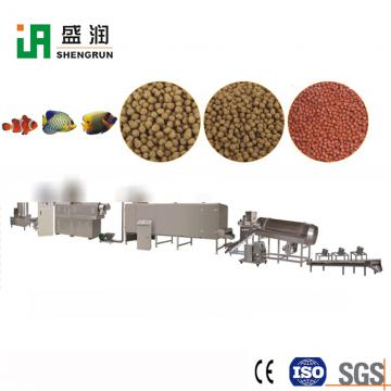 Fish Feed Pelletizer inflating Extruder Machinery Production Line