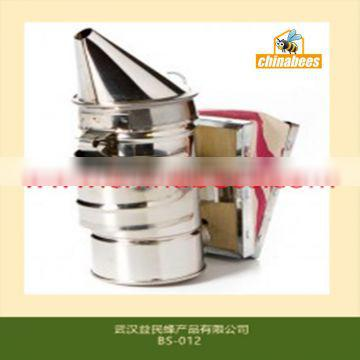 Mini bee smoker made by stainless steel for beekeeping agriculture