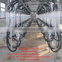 Dairy Farm Machinery Milking Parlor , Goat Milking Machine For Goat