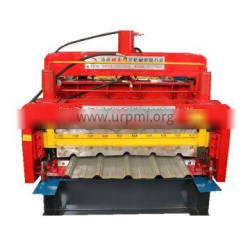DX-840/820 New glazed Double Layer color steel Roll Forming Machine With Electric Drive