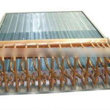 copper tube aluminium shell and tube heat exchanger for heat pump