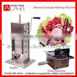 Hand Use Small Capacity Home Party Use Stainless Manual Sausage Stuffer
