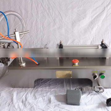 Wholesale Stainless steel Piston 250ml Semi-automatic detergent filling machine
