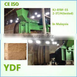 45-55KW oil Palm EFB Long Fiber plant (long fibers for baling, making mattress, pulp and papers)