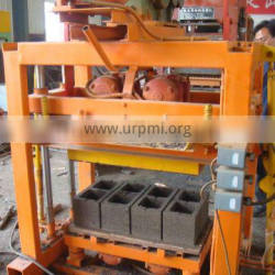 Simple operation vibrate electric cement block forming machine QTJ4-40 cheap price brick producing equipment best selling goods