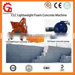 High Efficiency Foam Cement Brick Machine for New Construction Material