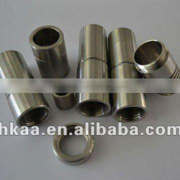 small high polished stainless steel tube sleeves