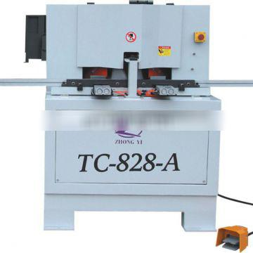 TC-828A New Type of Dual Saw Cutting Machine for 45 degree