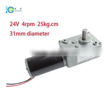 2016 Bldc 24v 4rpm 25kg.cm High-torque for Dc Electric Worm Motor with Gearbox And Different Speed, Gear Reducer