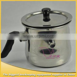 wax melting device for beeswax macking