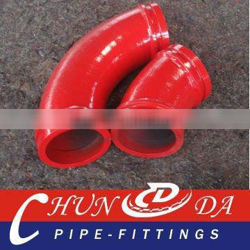 DN125 Concrete Pump Twin-Wall Elbows (R275*45D,Double Layers)