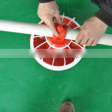 poultry auger feeding system for broiler chick