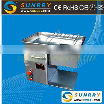 Cooked meat cutter thickness 3mm blade meat cutter production 250 Kg/Hour frozen meat cutter for CE (SY-MC250 SUNRRY)