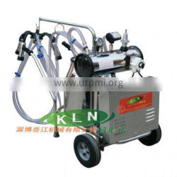 Vacuum pump type removable milking machine from china manufacturer