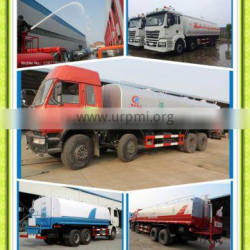 8x4 Dongfeng/Sinotruck/Shacman/JAC/JMC brand carbon steel 25000liters Sprinkler Water Tank Truck 30tons Bowser Truck