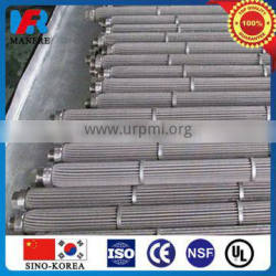pleated stainless steel filter cartridge(100% stainless steel)