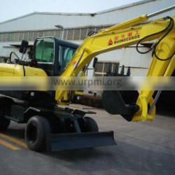 New China 6T,7T,8T,10T wheel excavator for sale