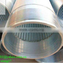 water well jonhson screen pipe<Galvanized or stainless steel>(Manufacture)