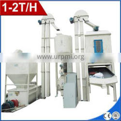 1-2T/H Small capacity poultry animal feed pellet production line