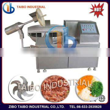 304 stainless steel bowl cutter machine for meat chopping and mixing