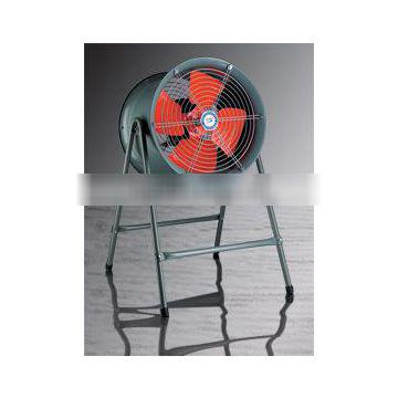 exhaust system low noise axial flow draught fan