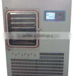 TPV-50F silicon oil heating lyophilizer equipment For food fruit (0.7 square meter,drying curve display)